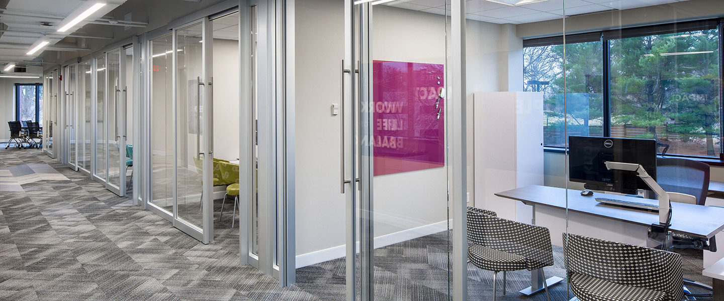The Clear Wall Clear Office Wall System By Trendway