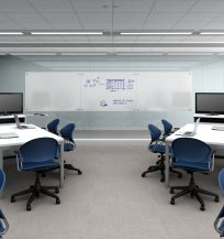 Jet Classroom with Trig Desking