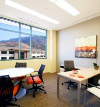 Collaborative Office with Live & Sketch Seating, and Trig Desks